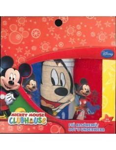 Pack 3 slips Disney Mickey...