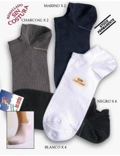 Tienda de ropa interior para todos. Ropa íntima al mejor precio - Mi Muda Online - Calcetin Zapatilla Antideslizante niño Ysabel mora