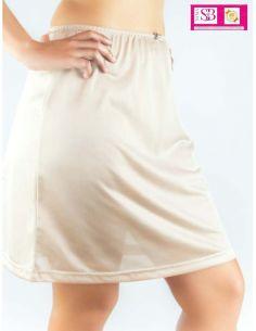Combinacion de falda Lisa...