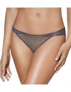 Braga bikini con encaje de...
