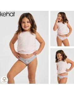 Pack 6 Bragas niña Kehat...